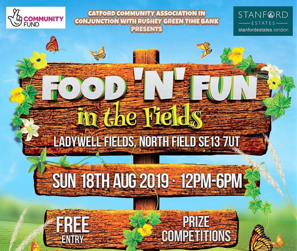 Catford Community Association Presents Music Food And